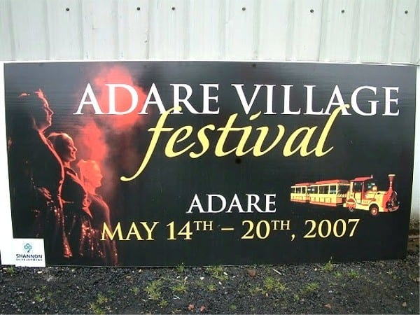 event signs 1